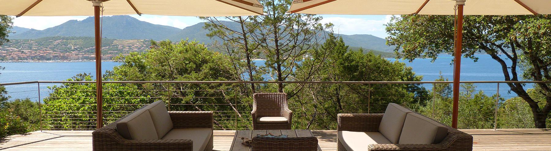 Villa avec accès plage : Olmeto Plage