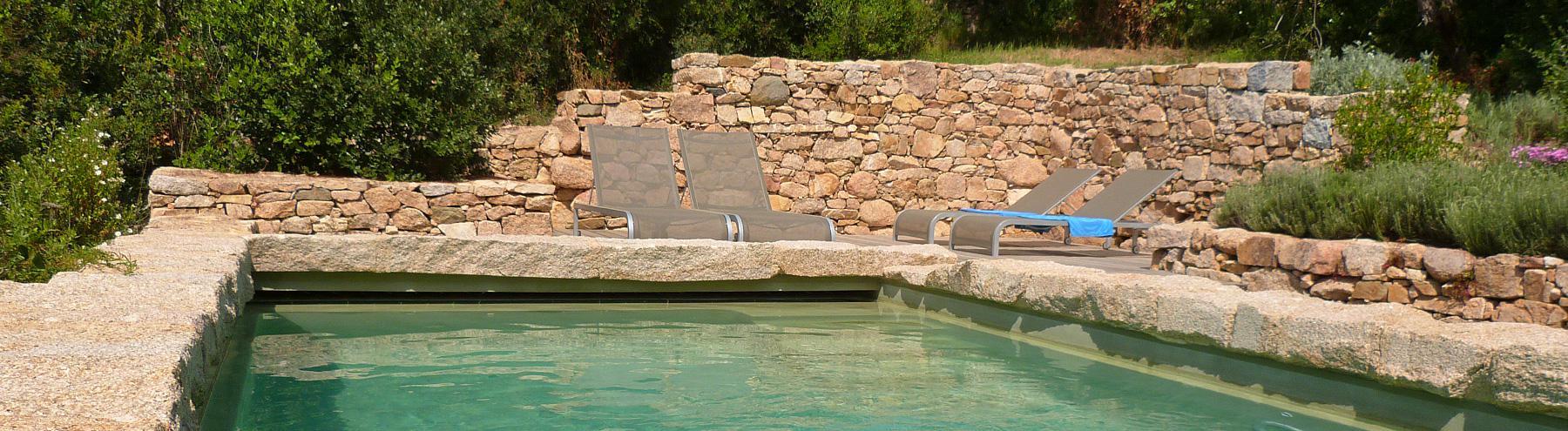 Villa bord de mer avec piscine  : Villa Olmeto Plage :