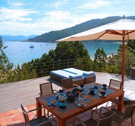 Villa Campomoro Corse du sud
